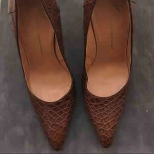 Giuseppe Zanotti made in Italy leather pumps